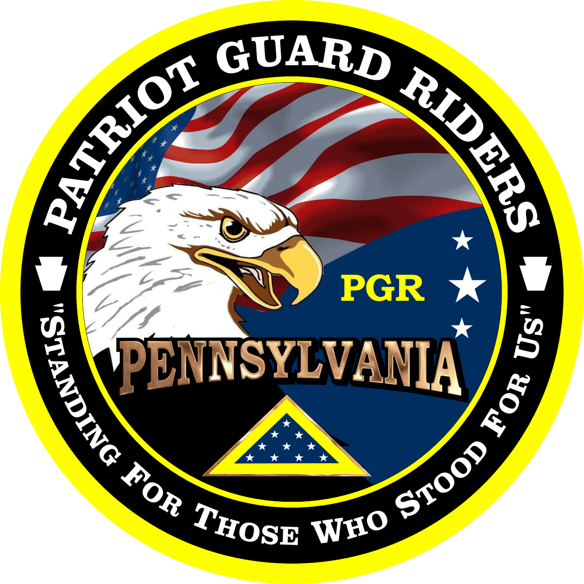 Pennsylvania pgr Patch redesign with better eagle