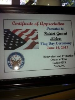 CoA - Flag Day Ceremony