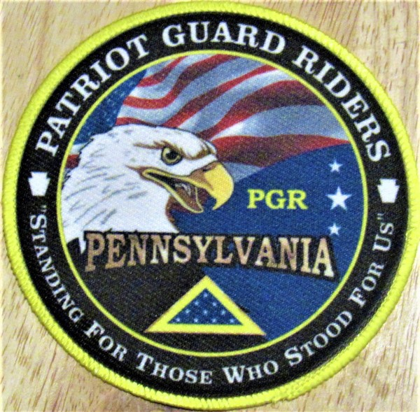 *NEW* PGRPA 4 Inch Patch